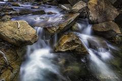 Lake Alpine Stream (smbrooks_2000) Tags: waterfall california lakealpine alpinecounty water rocks flow summer stream landscape