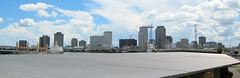 New Orleans downtown panorama (pr0digie) Tags: neworleans downtown city cityscape mississippi river