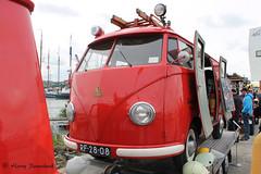 Volkswagen T1 Brandweerbus  04-1957  RF-28-08 (harry.pannekoek) Tags: volkswagen t1 brandweerbus 041957 rf2808