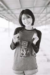 ILFORD DELTA 400 (27) (Waynegraphy) Tags: waynegraphy waynelee nikon nikonf3 50mmf18d 50mm ilford ilforddelta film 35mm malaysia girl ladies blackandwhite