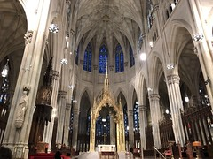 Always a sight to see when you're in NYC. ⛪️ And a blessing to attend one of its eucharistic celebrations. 🙏 #gratitude #Sunday #Mass #sfamilytravels #StPatricksCathedral #Manhattan #NY (Travel Galleries) Tags: trip travel usa cathedral patrick saint catholic famous church celebration eucharistic nyc sunday mass manhattan ny gratitude sfamilytravels stpatrickscathedral