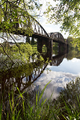Loch Ken Viaduct (itmpa) Tags: lochkenviaduct viaduct 1861 1860s dandeblyth engineers thomasnelsonandco portpatrickrailway railway glasgowandsouthwesternrailway gswr disused closed portroad lochken dumfriesandgalloway kirkcudbrightshire scotland archhist itmpa tomparnell canon 6d canon6d