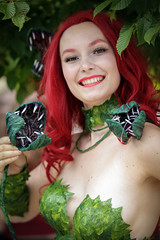 Poison Ivy cosplayer at ExCeL London's MCM Comic Con, May 2018 (Gordon.A) Tags: london docklands londondocklands excel excellondon excellondonexhibitioncentre moviecomicmedia mcm con convention comicbookconvention comiccon mcmcomiccon mcmlondon comicconlondon comicconlondonexcel 2018 may2018 mcm2018 creative costume culture lifestyle style poisonivy dccomics dcbombshell dcbombshells cosplay cosplayer cosplayportrait cosplayphotography festival event eventphotography amateur pose posed portrait portraitphotography streetportrait streetphotography colourportrait colourstreetportrait naturallight naturallightportrait canon eos 750d canoneos750d digital sigma sigma50100mmf18dc
