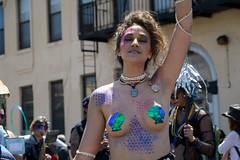 Mermaid Parade 2018 (Samicorn) Tags: nikon brooklyn mermaid costume parade summer june nyc newyorkcity boardwalk coneyisland sunny festival glitter shiny gothamist mermaidparade brokelyn dancers nude topless timeout