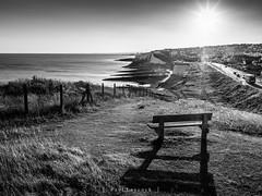 Saltdean Sunset 26/52 2018 - EXPLORED (amipal) Tags: bench coast england gb greatbritain saltdean shadows summer sunset sussex uk unitedkingdom