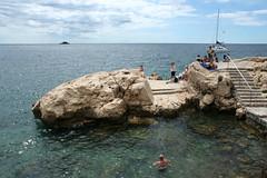 On the Rocks (3) (Wolfgang Bazer) Tags: rovinj rovigno istrien istria adria adriatisches meer adriatic sea kroatien croatia rocks felsen