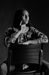 Thoughts (MarceOliver) Tags: model girl thoughts blackandwhite bw maldonado uruguay