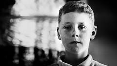 Tomboy #3 (Unicorn.mod) Tags: 2018 boy kid bw monochrome blackandwhite blackwhite portrait indoor lad canoneos6d canon