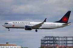 Air Canada - Boeing 737-8MAX C-FSLU @ London Heathrow (Shaun Grist) Tags: cfslu ac aircanada boeing 737 max shaungrist lhr egll london londonheathrow heathrow airport aircraft aviation aeroplanes airline avgeek