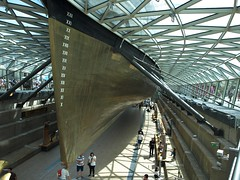 The Cutty Sark. (No1bus) Tags: cuttysark greenwich riverside clipper london tourists
