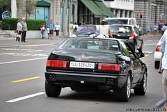 Maserati Ghibli II - Switzerland, Lucerne (Helvetics_VS) Tags: licenseplate switzerland luzern oldcars sportcars maserati ghibli