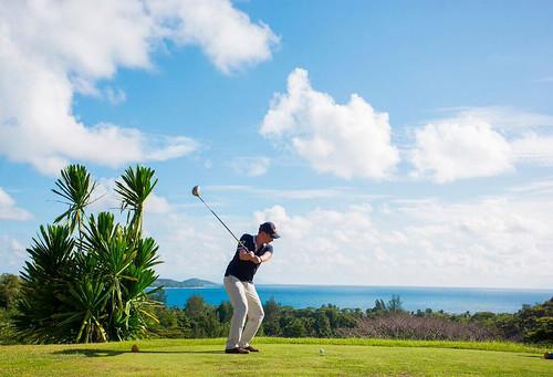 Golf-throw