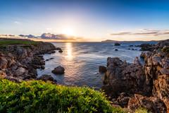 Cavalleria Coastline   Menorca, Spain (NicoTrinkhaus) Tags: menorca spain island cavalleriacoastline cliffs sunrise sun water sea nature landscape balearicislands balearic