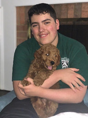Ginger's Finn is loving his new family!