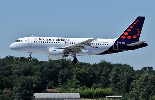 Brussels Airlines Airbus A319 OO-SSO