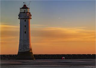 Sunset at Perch Rock Lighthouse