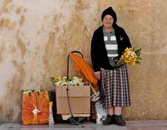 The Flower Seller (maggie.henfield) Tags: flowerseller malta