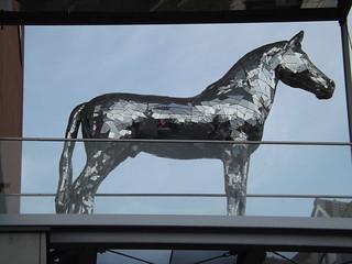 Horse sculpture, Köflach, Austria