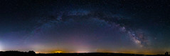 Milky Way Panorama over Penn Yan, Finger Lakes Region of New York State (Douglas Gray) Tags: milky way finger lakes astro astrophotography sigma panorama night stars