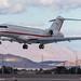 Bombardier BD-700-1A10 landing at KLAS