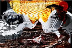 Climas (seguicollar) Tags: imagencreativa photomanipulación art arte artecreativo artedigital virginiaseguí mar ballena aguas water árboles sol desierto nieve piguinos climas medioambiente protección
