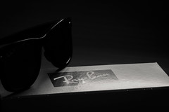 Ray-Ban Wayfarer (Jontsu) Tags: rayban wayfarer sunglasses blackandwhite nikon d7200 sigma 105mm macro