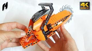 Lego Technic Rotary Rescue Saw (MOC - 4K)