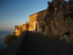 Santuario Madonna della Rocca (davepickettphotographer) Tags: taormina sicily coast coastline earlymorning italy italian churchofmadonnadellarocca madonnadellarocca santuario madonna della rocca
