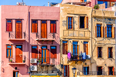 Chania, Crete (Kevin R Thornton) Tags: d90 crete travel facade mediterranean greece city architecture chania nikon creteregion gr