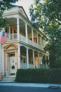 Charlestown - South Carolina  - 89 Beaufain Street -  William Steele House  - 1811 - Historic