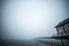 Drawn back again (adam_reynolds) Tags: fog mist ocean northsea north sea saltburn pier