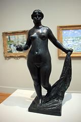 Small Standing Venus (La petite Venus debout), by Pierre-Auguste Renoir (JB by the Sea) Tags: sanfrancisco california march2018 lincolnpark californiapalaceofthelegionofhonor legionofhonor palaceofthelegionofhonor statue sculpture bronze pierreaugusterenoir renoir ricardguinoboix