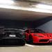 Lamborghini Aventador LP750-4 SuperVeloce Roadster & Ferrari 458 Speciale A