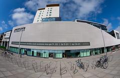Shopping center (Antti Tassberg) Tags: arkkitehtuuri 15mm ainoa fisheye tapiola kauppakeskus kaupunki espoo suomi rakennus architecture building city cityscape finland prime scandinavia urban uusimaa fi
