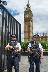 AFS-2017-03143 (Alex Segre) Tags: capital city cities armed police policeofficers policeofficer policemen policeman gun guns firearm firearms weapon weapons outside outdoors outdoor security guarding housesofparliament bigben westminster central london uk england britain english british europe european in a alexsegre