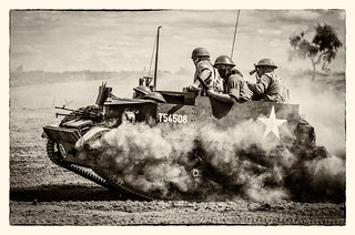 Universal Carrier In The Dust