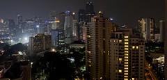Jakarta night scape (somabiswas) Tags: jakarta indonesia night lights