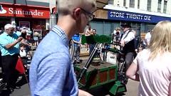 20180715 video Flatulator machine at Fleetwood (blackpoolbeach) Tags: fleetwood festival tramsunday flatulence farting pumping machine tram track flatulator groove professor keithrobinson rocket circusfudge