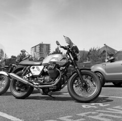img008 (Summer_Xsheng) Tags: hasselblad foma motorcycle