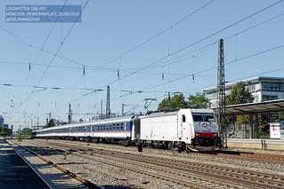 Lokomotion 186 443 | München-Heimeranplatz