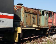 118118 20 (Hudswell Clake D1121) Swanwick Depot (MRC) 12.09.2009 (31417) Tags: 20 d1121 hudswellclarke swanwick mrc