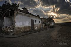 Calle Algete (Luis R.C.) Tags: abandono pueblos madrid edificios paisajes ocaso nikon d610
