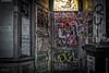 Stokes Croft, Bristol, UK (KSAG Photography) Tags: door graffiti urban urbandecay city night nightphotography nikon 35mm wideangle hdr building art bristol uk unitedkingdom england europe britain street streetphotography