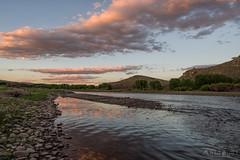 IMGP3346-Edit (Matt_Burt) Tags: cooperwest canyon clouds gunnisonriver reflection sunset water