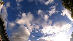 Timelapse cloudscape from the backyard (zsolt.palatinus) Tags: clouds cloud sky blue summer summertime cloudscape timelapse cc free publicdomain ffcu bestvideosonflickr
