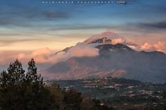 Mount Batur and Moung Agung View (©Helminadia Ranford) Tags: kintamani bali indonesia camping travel nature island batu agung mountain volcano light sunset