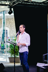 Discours d'ouverture du Focus international (Avignon le OFF (festival OFF d'Avignon)) Tags: festival festivaloff avignon rencontre international culture professionnels discours