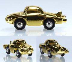 SCH-P-1710.80-Firebird (adrianz toyz) Tags: diecast toy model 171080 schuco piccolo set frohe weihnachten 2013 merrychristmas gold plated american us concept car 1950s reissue general motors firebird ii 1956