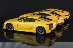 6U8A3371 (Alex_sz1996) Tags: autoart 118 lexus lfa hot wheels elite ferrari f12 berlinetta lamborghini gallardo lp5604