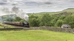 Helwith Consolidation (4486Merlin) Tags: 48151 england europe exlms heritagerailways lms8fbigeight northwest northyorkshire railways settlecarlislesc steam transport unitedkingdom hortoninribblesdale gbr dalesman wcrc